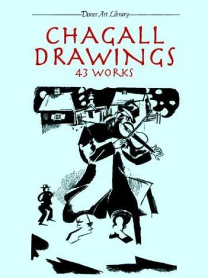 Books About Art - Chagall Drawings: 43 Works (Dover Art Library)