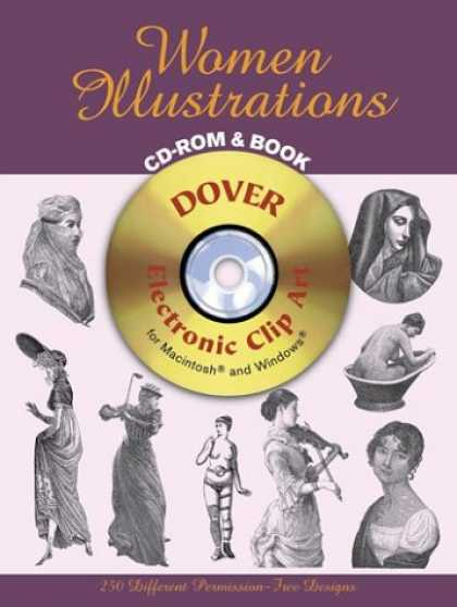 Books About Art - Women Illustrations CD-ROM and Book (Dover Electronic Clip Art)