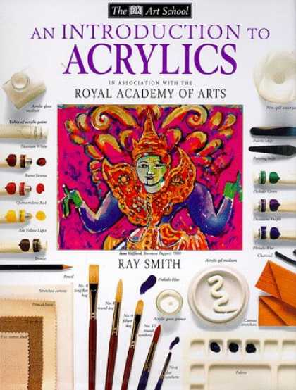 Books About Art - An Introduction to Acrylics (DK Art School)