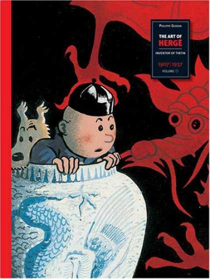 Books About Art - The Art of Herge, Inventor of Tintin: Volume 1: 1907-1937