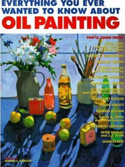 Books About Art - Everything You Ever Wanted to Know about Oil Painting