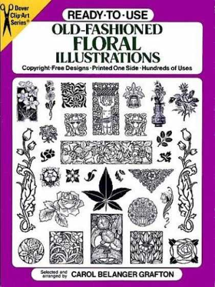 Books About Art - Ready-to-Use Old-Fashioned Floral Illustrations (Dover Clip Art Series)