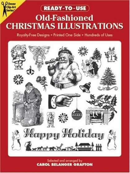 Books About Art - Ready-to-Use Old-Fashioned Christmas Illustrations (Clip Art)