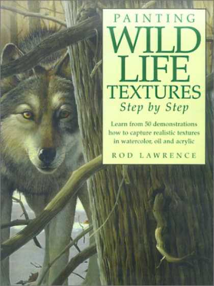 Books About Art - Painting Wildlife Textures: Step by Step