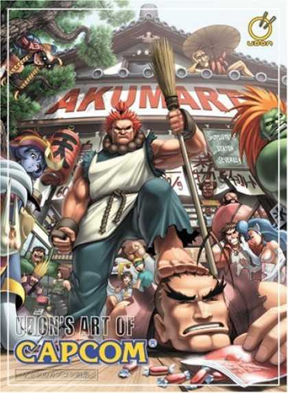 Books About Art - Udon's Art of Capcom