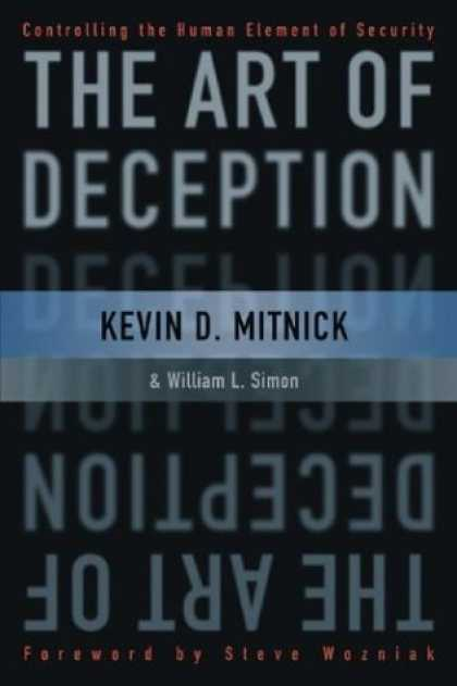 Books About Art - The Art of Deception: Controlling the Human Element of Security