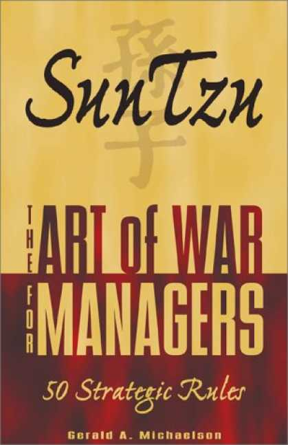 Books About Art - Sun Tzu: The Art of War for Managers; 50 Strategic Rules