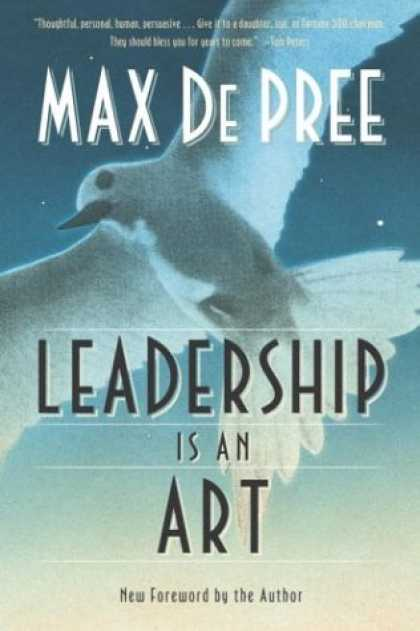 Books About Art - Leadership Is an Art