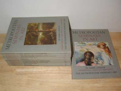 Books About Art - Metropolitan Museum - Seminars in Art (Complete 12 Portfolio Set)