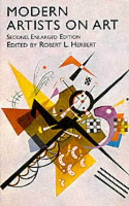 Books About Art - Modern Artists on Art: Second Enlarged Edition