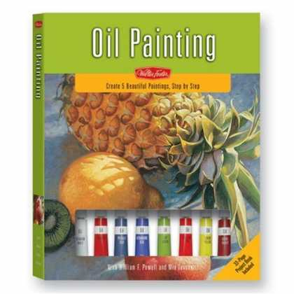 Books About Art - Oil Painting Kit (Walter Foster Painting Kits)
