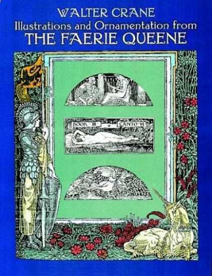 Books About Art - Illustrations and Ornamentation from The Faerie Queene (Dover Pictorial Archive