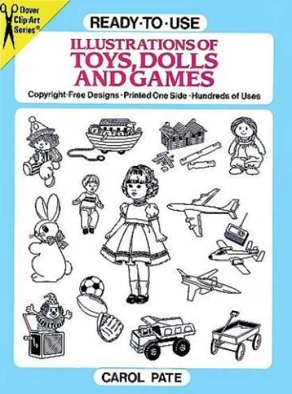 Books About Art - Ready-to-Use Illustrations of Toys, Dolls and Games (Dover Clip-Art Series)
