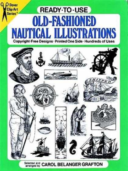 Books About Art - Ready-to-Use Old-Fashioned Nautical Illustrations (Dover Clip-Art Series)