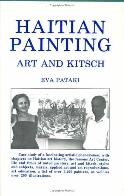 Books About Art - Haitian Painting, Art and Kitsch