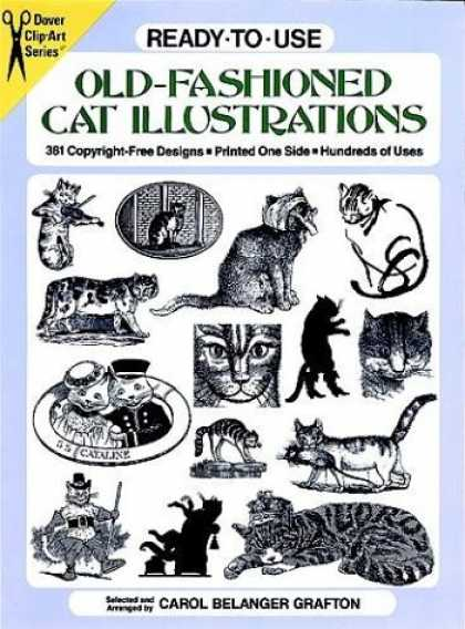 Books About Art - Ready-to-Use Old-Fashioned Cat Illustrations (Dover Clip-Art Series)