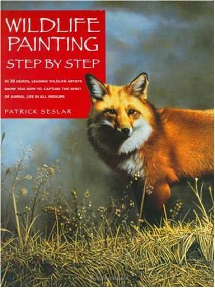 Books About Art - Wildlife Painting Step By Step