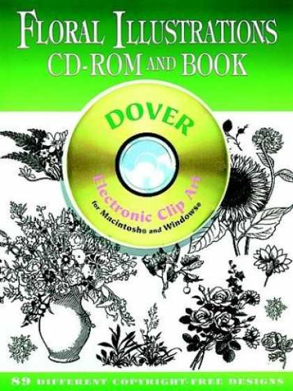 Books About Art - Floral Illustrations CD-ROM and Book (Dover Electronic Clip Art Series)