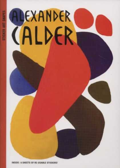 Books About Art - Sticker Art Shapes: Alexander Calder