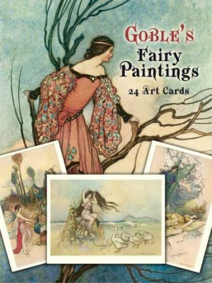 Books About Art - Goble's Fairy Paintings: 24 Art Cards