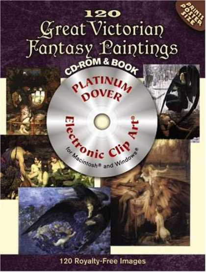 Books About Art - 120 Great Victorian Fantasy Paintings CD-ROM and Book (Electronic Clip Art)
