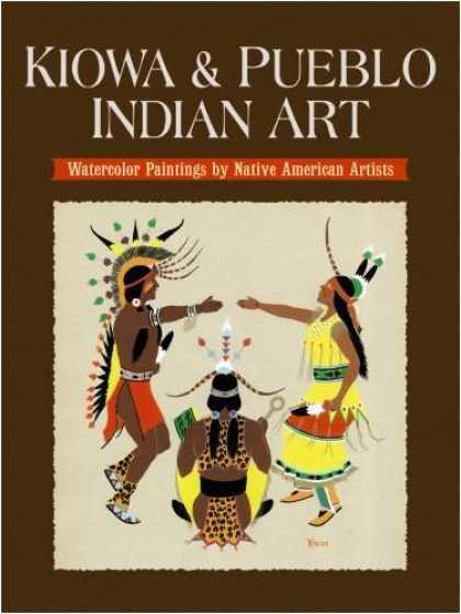 Books About Art - Kiowa and Pueblo Art: Watercolor Paintings by Native American Artists