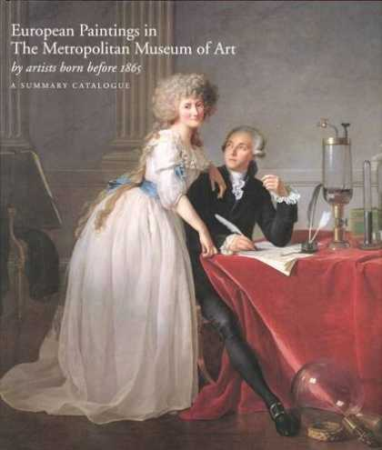 Books About Art - European Paintings in the Metropolitan Museum of Art by Artists Born before 1865
