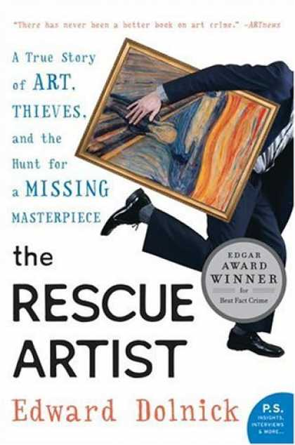Books About Art - The Rescue Artist: A True Story of Art, Thieves, and the Hunt for a Missing Mast