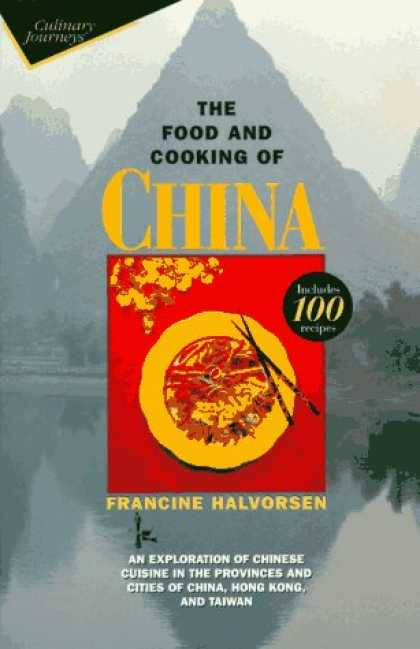 Books About China - The Food and Cooking of China: An Exploration of Chinese Cuisine in the Province
