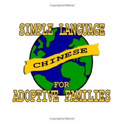 Books About China - Simple Chinese for Adoptive Families (Book and Audio CD)