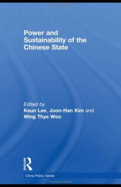 Books About China - Power and Sustainability of the Chinese State (China Policy)