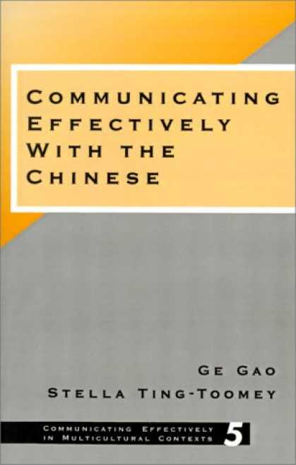Books About China - Communicating Effectively with the Chinese (Communicating Effectively in Multicu
