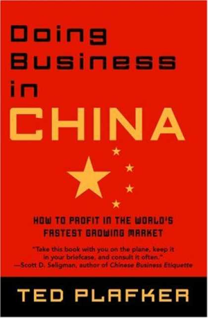 Books About China - Doing Business In China: How to Profit in the World's Fastest Growing Market