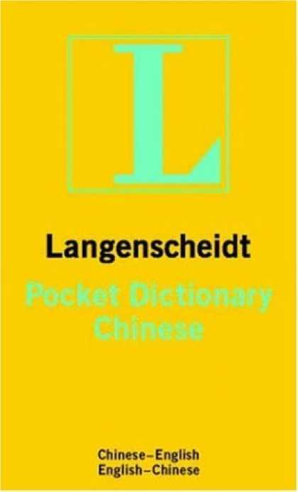 Books About China - Langenscheidt's Pocket Dictionary Chinese/English English/Chinese