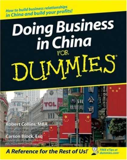 Books About China - Doing Business in China For Dummies (For Dummies (Business & Personal Finance))