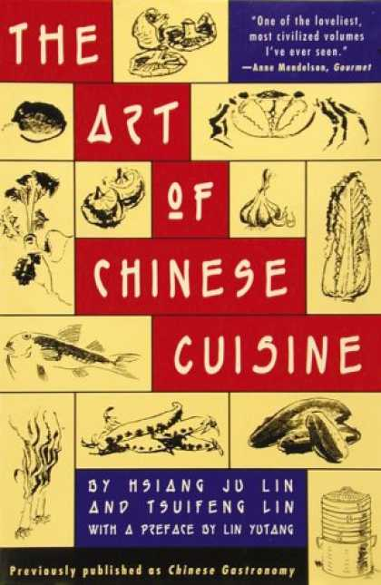Books About China - The Art of Chinese Cuisine
