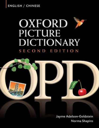 Books About China - Oxford Picture Dictionary: English/Chinese