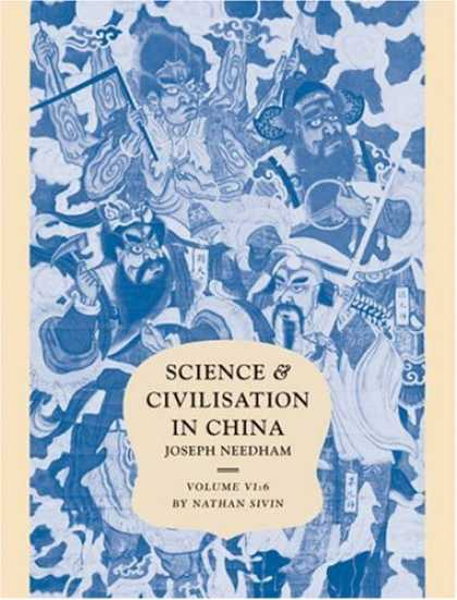 Books About China - Science and Civilisation in China: Volume 6, Biology and Biological Technology;