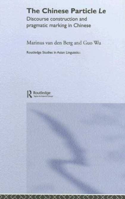 Books About China - Chinese Discourse LE (Routledge Studies in Asian Linguistics)