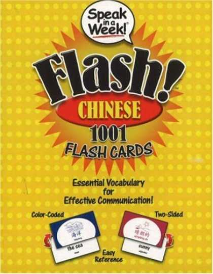 Books About China - Speak in a Week Flash! Chinese: 1001 Flash Cards (Chinese Edition)