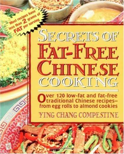 Books About China - Secrets of Fat-free Chinese Cooking (Secrets of Fat-free Cooking)