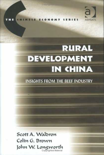 Books About China - Rural Development in China: Insights from the Beef Industry (The Chinese Economy