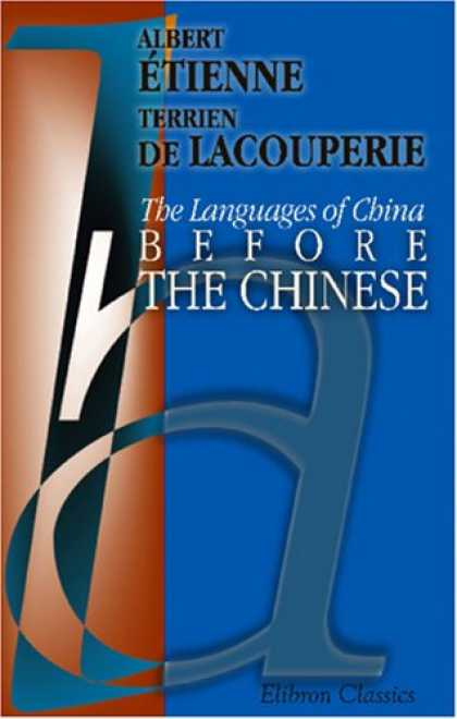 Books About China - The Languages of China before the Chinese