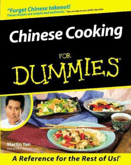 Books About China - Chinese Cooking for Dummies