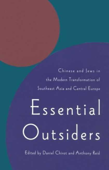 Books About China - Essential Outsiders: Chinese and Jews in the Modern Transformation of Southeast