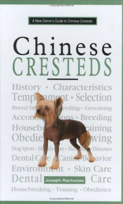 Books About China - A New Owner's Guide to Chinese Crested: Akc Rank 72 (New Owner's Guide to Series