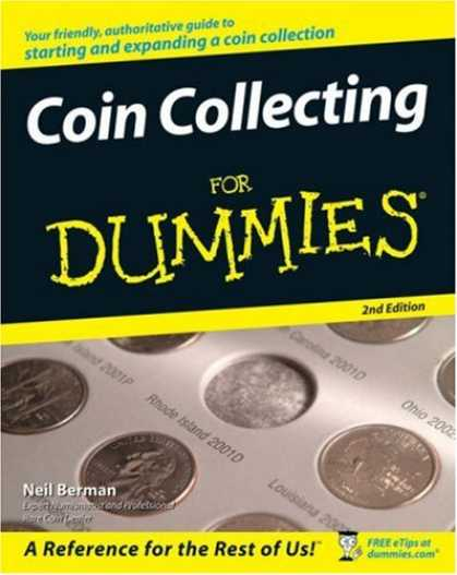 Books About Collecting - Coin Collecting For Dummies (For Dummies (Sports & Hobbies))