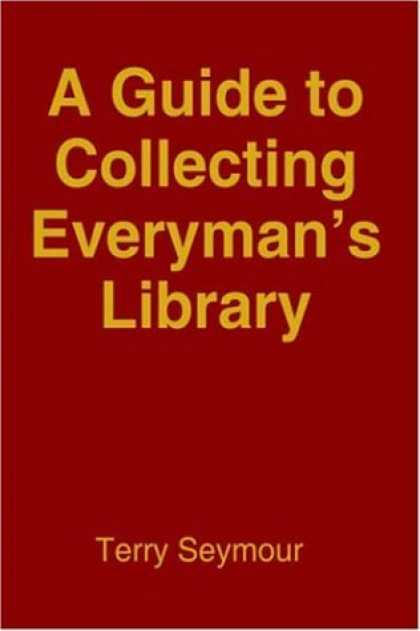 Books About Collecting - A Guide to Collecting Everyman's Library