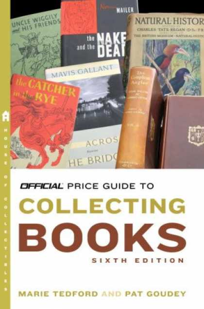 Books About Collecting - The Official Price Guide to Collecting Books, 6th Edition (Official Price Guide