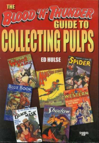 Books About Collecting - The Blood 'n' Thunder Guide to Collecting Pulps